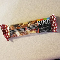 KIND® Cranberry Almond + Antioxidants With Macadamia Nuts uploaded by Amber M.