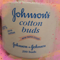 Johnson's Baby Cotton Buds (Pack of 200) uploaded by Elizabeth W.