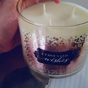 Photo of Bath & Body Works® A Thousand Wishes 3-Wick Candle uploaded by Karolyn G.