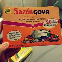 Goya Sazon Coriander & Annatto Seasoning uploaded by Indira H.