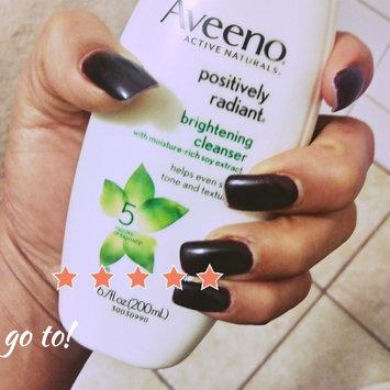 Photo of Aveeno Positively Radiant Cleanser uploaded by brenda G.