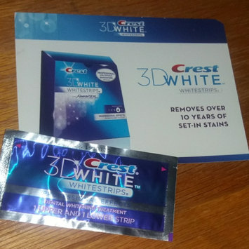 Photo of Crest 3D White Professional Effects Whitestrips uploaded by Genedra T.