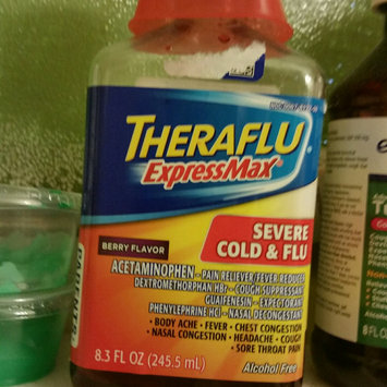 Photo of Theraflu® ExpressMax™ Daytime Berry Flavor Severe Cold & Cough Liquid 8.3 fl. oz. Bottle uploaded by Ramonita R.