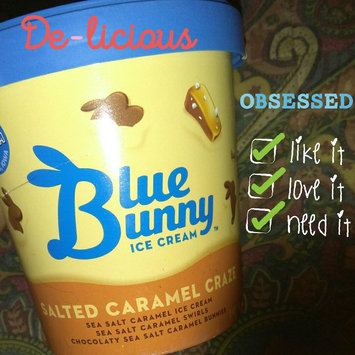 Photo of Blue Bunny™ Salted Caramel Craze Ice Cream 1 pt. Tub uploaded by Passion B.