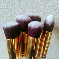 Soobest Professional Beauty Cruelty Free Kabuki Synthetic Makeup Brushes Set Cosmetics Makeup Brushes Kit with Carry Bag (Golden White) uploaded by Beauty B.