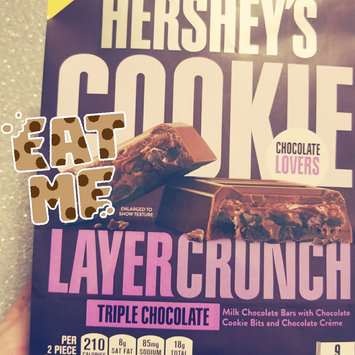 Photo of Hershey's Cookie Layer Crunch Bar Triple Chocolate uploaded by Amanda R.