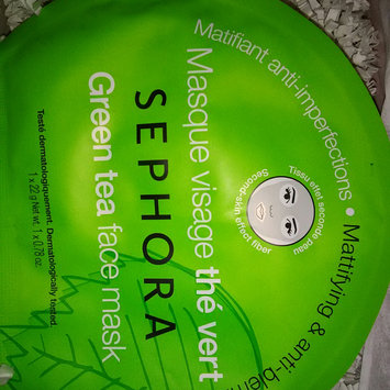 Photo of SEPHORA COLLECTION Face Mask Green Tea Mattifying & Anti-blemish uploaded by Sheila M.