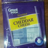 Great Value: Sharp White Shredded Cheddar Cheese, 8 Oz uploaded by Tammy M.