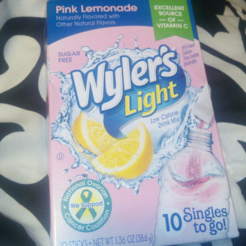 Photo of Wyler's Light Singles To Go Pink Lemonade Soft Drink Mix, 10ct uploaded by Utica W.