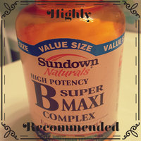 Sundown B-complex Vitamins Sundown Naturals Vitamin B Super Maxi Complex Caplets uploaded by Denise C.