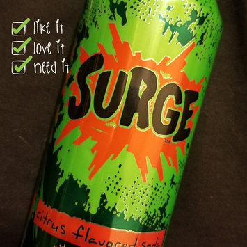 Photo of Surge­™ Citrus Flavored Soda 16 oz Can uploaded by Amanda R.