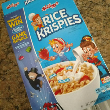 Photo of Kellogg's® Rice Krispies® Cereal uploaded by Klane M.