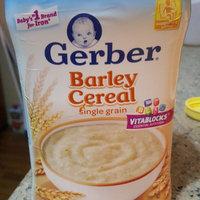 Gerber Gerber Single Grain Baby Cereal Barley uploaded by Jennifer L.