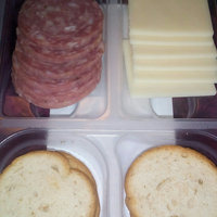 Hillshire® Snacking Small Plates Genoa Salame with Natural White Cheddar Cheese & Toasted Rounds 2.76 oz. Tray uploaded by Caitlyn E.