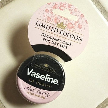 Photo of Vaseline Limited Edition Lip Therapy Pink Bubbly Tin uploaded by Tish C.