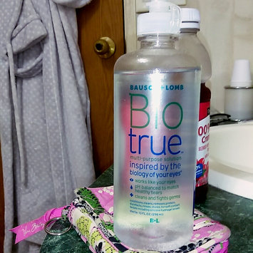 Photo of Bausch + Lomb Biotrue Multi-Purpose Solution uploaded by Cheyanne E.