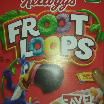 Photo of Kellogg's Froot Loops Cereal uploaded by Amy L.