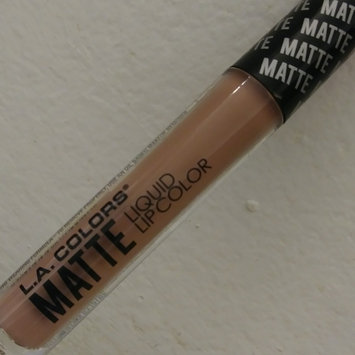 Photo of L.A. Girl Matte Pigment Lip Gloss uploaded by Wandy R.