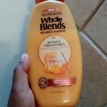Photo of Garnier Whole Blends  Honey Treasures Repairing Shampoo uploaded by Albanellys C.