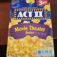 Act II® Movie Theater Butter Microwave Popcorn uploaded by Semaria S.