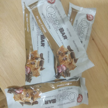 Photo of Quest Nutrition - QuestBar Natural Protein Bar Chocolate Chip Cookie Dough - 2.12 oz. uploaded by Manminder S.
