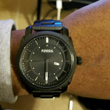 Photo of Fossil Machine Black Dial Black-plated Mens Watch FS4775 uploaded by GeMarques T.