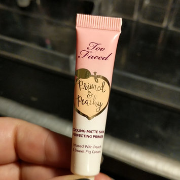 Photo of Too Faced Primed & Peachy Cooling Matte Perfecting Primer uploaded by Jessica W.
