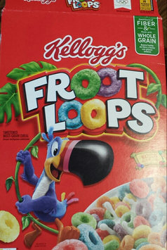 Photo of Kellogg's Froot Loops Cereal uploaded by naf C.