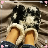 Snoozies Fleece Lined Slippers - Animal Skins Collection uploaded by Tish C.