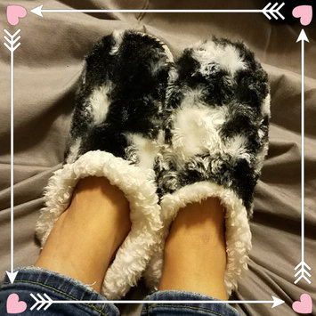 Photo of Snoozies Fleece Lined Slippers - Animal Skins Collection uploaded by Tish C.