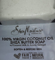 SheaMoisture 100% Virgin Coconut  Oil Shea Butter Soap uploaded by Victoria W.