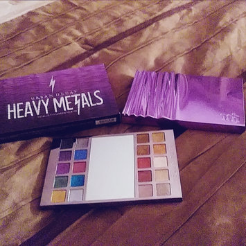 Photo of Urban Decay Heavy Metals Metallic Eyeshadow Palette uploaded by May M.