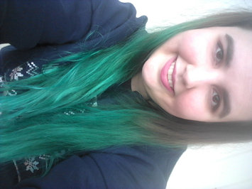 Photo of Jerome Russell Turquoise Semi-Permanent Punky Colour uploaded by Megan E.