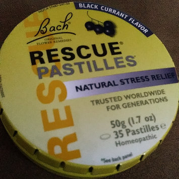 Photo of Bach Flower Remedies Rescue Pastilles Black Currant 1.7 oz Case of 12 uploaded by Alexis P.