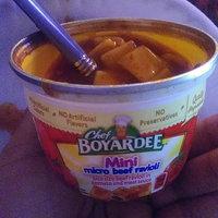 Chef Boyardee Mini Micro Beef Ravioli uploaded by Feliciaann r.
