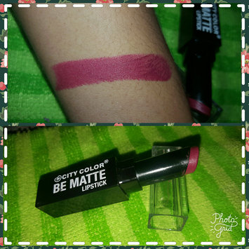 Photo of City Color Be Matte Lipstick uploaded by Maria P.