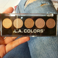 L.A. Colors 5 Color Metallic Eyeshadow, Tea Time, .26 oz uploaded by Marie S.