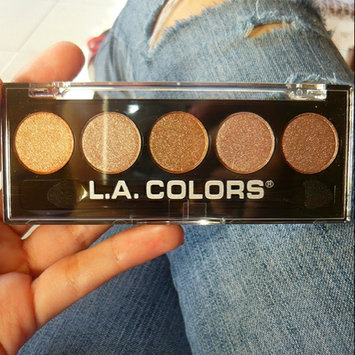 Photo of L.A. Colors 5 Color Metallic Eyeshadow uploaded by Marie S.