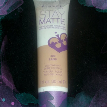 Photo of Rimmel Stay Matte Liquid Mousse Foundation uploaded by Robin M.