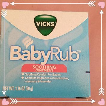 Photo of Vicks BabyRub Soothing Ointment uploaded by Gisela Q.