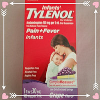 Tylenol Pain Reliever and Fever Reducer Grape Drops for Infants - 1 oz uploaded by Gisela Q.