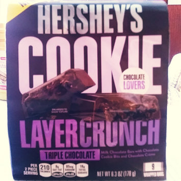Photo of Hershey's Cookie Layer Crunch Bar Triple Chocolate uploaded by Michelle P.
