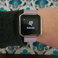 Fitbit - Blaze Smart Fitness Watch (large) - Black uploaded by Jessica T.