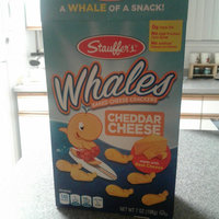 MLB Stauffer's Whales Snack Crackers, Baked Cheddar, 7 Ounce uploaded by Michaila F.