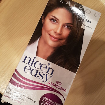 Photo of Clairol Nice'n Easy Permanent Hair Color uploaded by elina m.