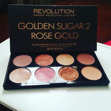 Photo of Makeup Revolution Golden Sugar 2 Rose Gold Ultra Professional Blush Palette uploaded by Aleanndra N.