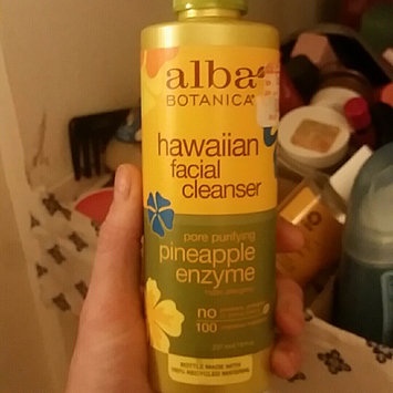Photo of Alba Botanica Hawaiian Facial Cleanser Pore Purifying Pineapple Enzyme uploaded by angie h.