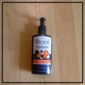 Photo of Biore® Charcoal Acne Clearing Cleanser uploaded by Vanessa O.