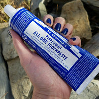 Dr. Bronner's Peppermint All-One Toothpaste uploaded by Natasha P.
