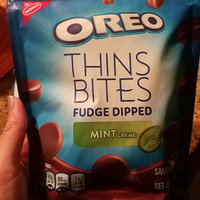 Nabisco Oreo Sandwich Cookies Thin Bites Fudge Dipped Mint Creme uploaded by Andrea R.